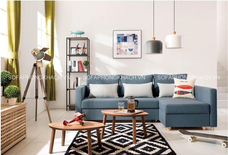 Chọn vị trí đẹp nhất trong phòng khách để kê sofa giường đa năng