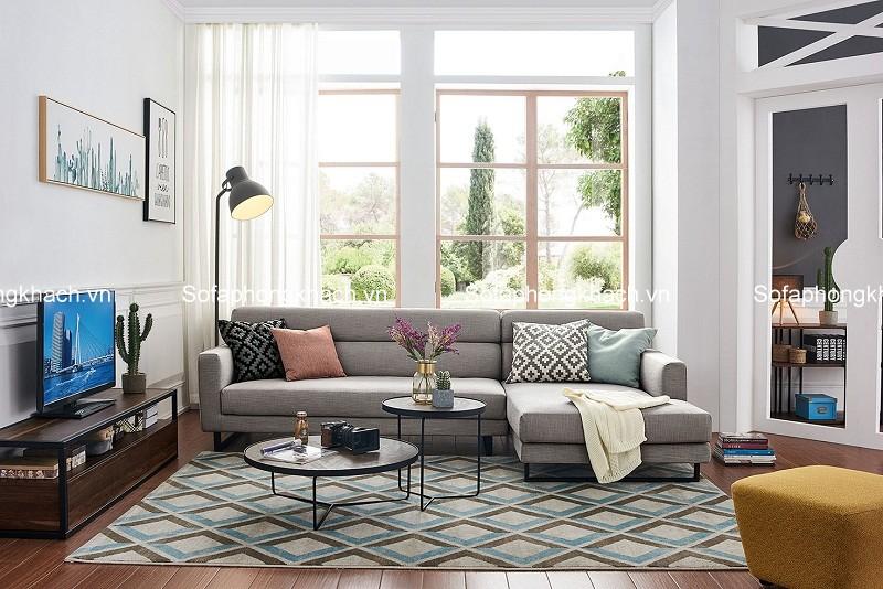 Bài trí sofa phòng khách cho gia đình có người cao tuổi
