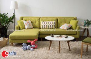 Ghế sofa phòng khách đẹp phù hợp với gia chủ mệnh Mộc