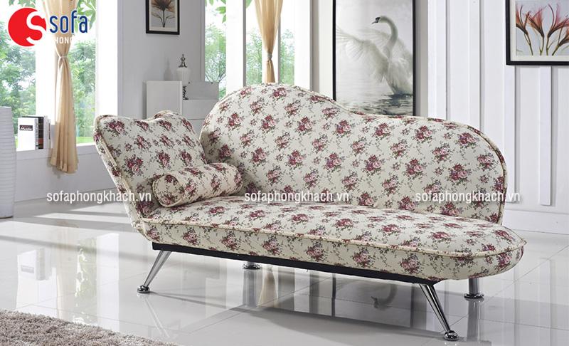 Ghế sofa vải họa tiết, hoa văn trang nhã