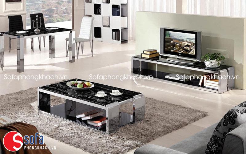 bàn trà sofa hiện đại
