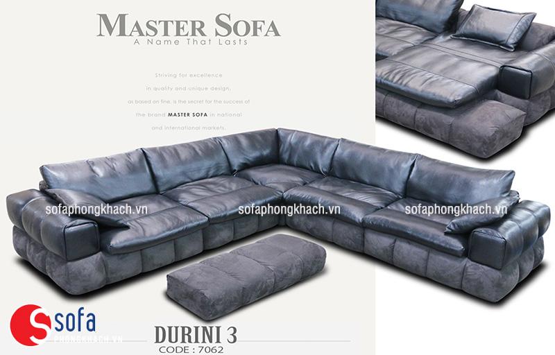 Ghế sofa da thật mang lại sự êm ái, bền đẹp