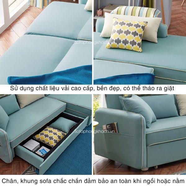 tiện ích của sofa giường đẹp DA-169