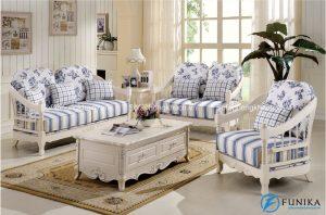 Mang phong cách nhẹ nhàng, ghế sofa cổ điển châu Âu bọc vải sẽ là làn gió mới thổi những cảm hứng bất tận đến cho gia đình bạn