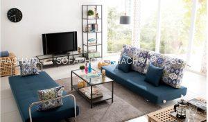 Bạn đã có ý tưởng tân trang lại ghế sofa giường đa năng phòng khách vào mùa hè này chưa