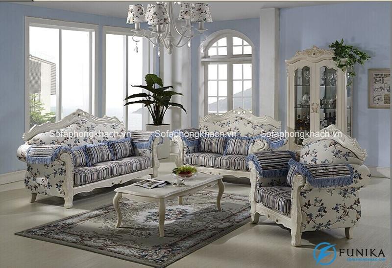 Ghế sofa tân cổ điển Funika mang vẻ đẹp nhẹ nhàng, thanh thoát đến không gian sống của bạn