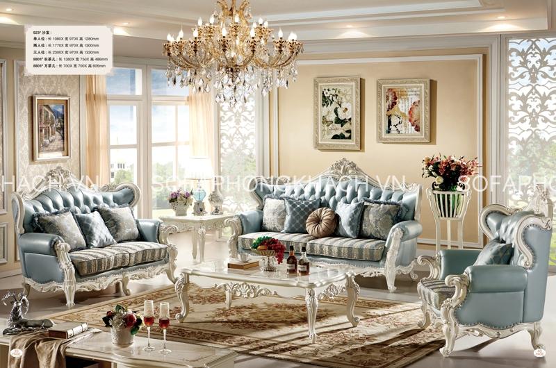 Sở hữu vẻ đẹp sang chảnh và tinh tế đến từng chi tiết nhỏ, mẫu sofa cổ điển đẹp này chắc chắn sẽ là điểm nhấn hoàn hảo cho phòng khách của bạn