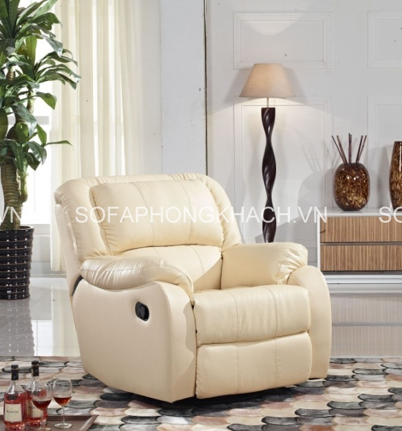 Chất liệu của ghế sofa thư giãn chi phối rất nhiều đến cảm giác của người dùng