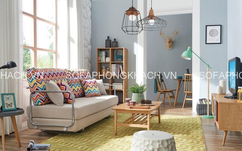 Màu sắc và chất liệu của sofa giường đa năng quyết định đến chất lượng sản phẩm