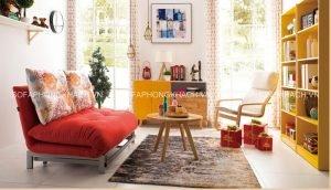 Bạn nên ưu tiên vị trí đẹp và hướng tốt cho chiếc sofa giường đa năng để nó có thể đem lại may mắn và sự sung túc cho bạn và cả gia đình