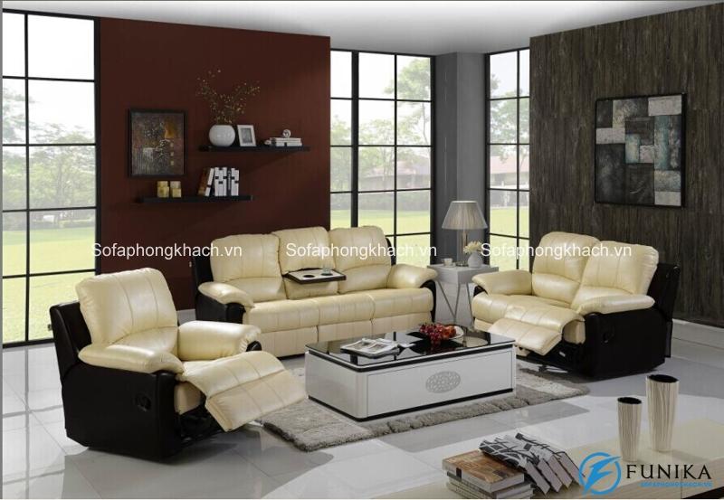 Sự đẳng cấp mà chỉ có chiếc sofa thư giãn cao cấp chất liệu da bò thật mới có thể đem lại
