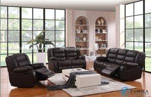 Chất liệu da chi phối rất nhiều đến chất lượng của mẫu sofa thư giãn cao cấp