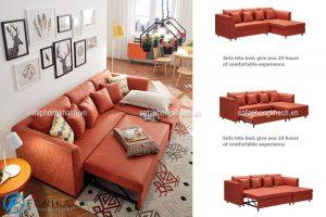 Thiết kế bộ sofa giường thông minh, linh hoạt