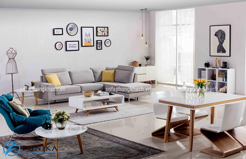Ghế sofa hiện đại cho phòng khách nhỏ