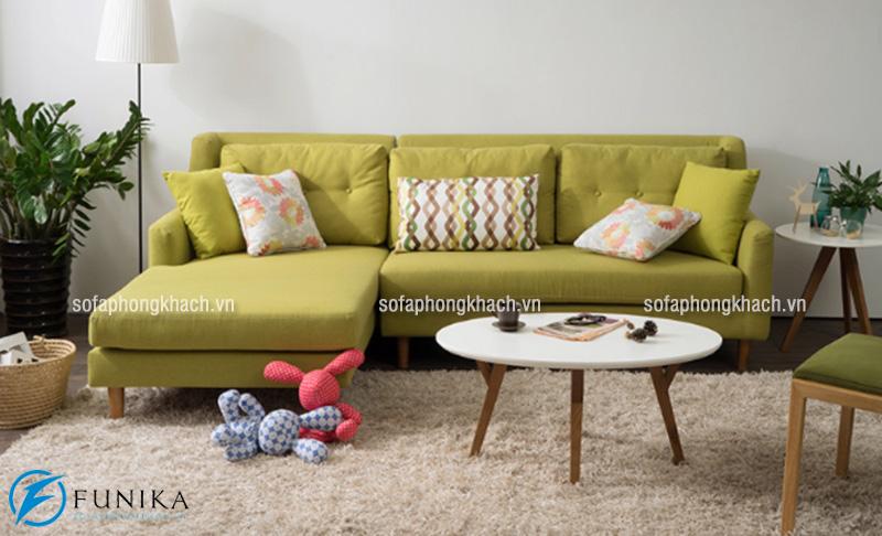 Ghế sofa khung gỗ sồi tự nhiên bền đẹp