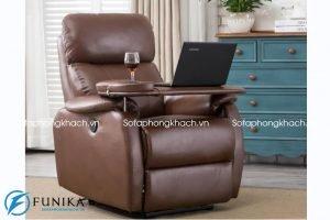 Ghế sofa thư giãn thường sở hữu thiết kế đơn giản nhưng độc đáo, mang đến ấn tượng trẻ trung và năng động cho không gian