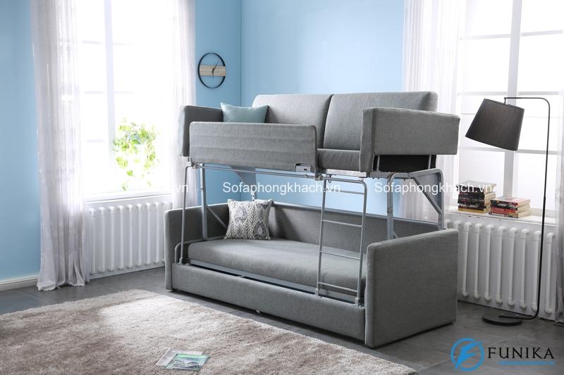 Ai có thể hình dung nó có thể biến thành chiếc giường tầng vững chãi như thế này?