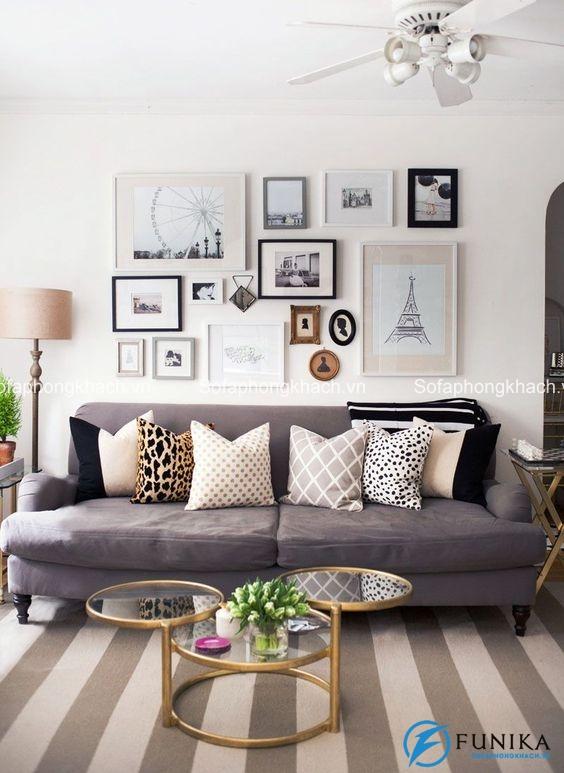 Những họa tiết chấm bi đáng yêu rất được ưa thích trong trang trí nội thất