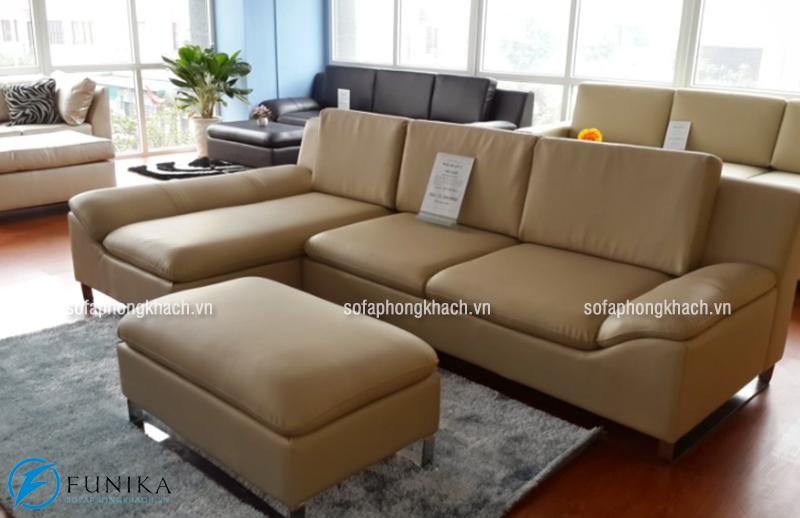 Bộ ghế sofa cao cấp bằng da nhập khẩu Hàn Quốc