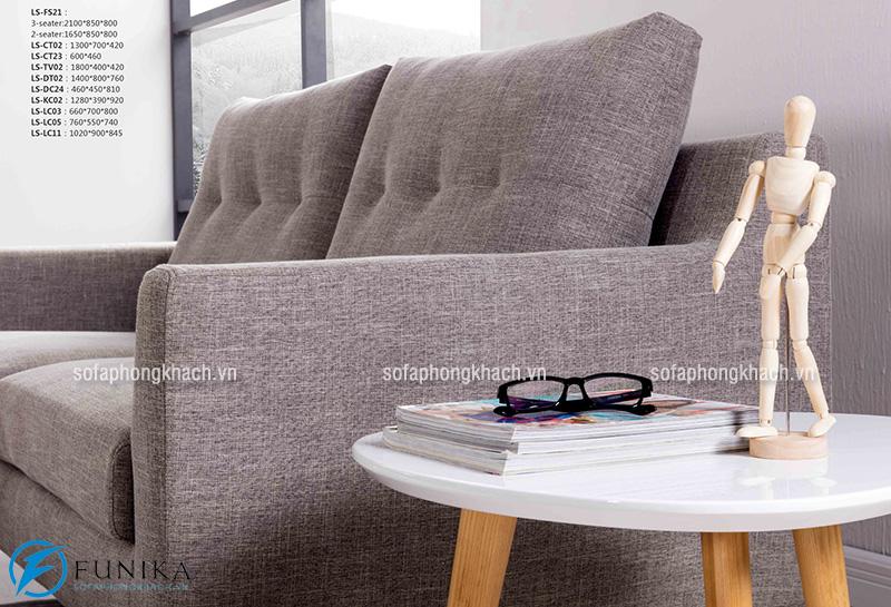 Lựa chọn đồ nội thất thiết kế đơn giản cho không gian phòng khách chung cư nhỏ