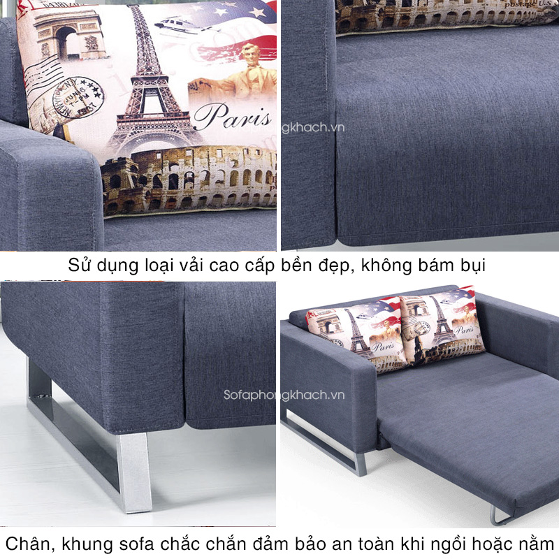tiện ích vượt trội của sofa giường BK6062