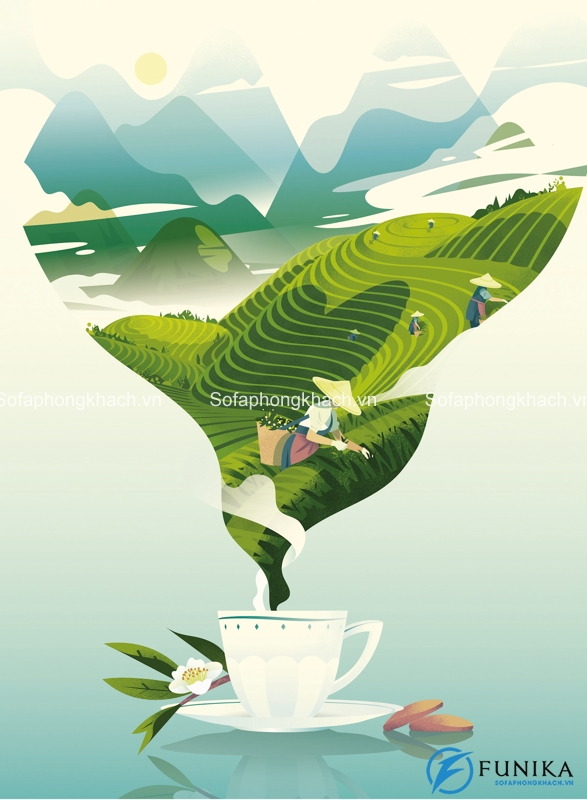 Việt Nam - Dải đất hình chữ S thân thương có cách thưởng trà rất riêng