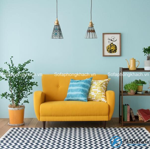 Ghế sofa giường sẽ phát huy hiệu quả đáng kể trong các không gia nhỏ