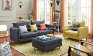 Mẫu ghế sofa kiêm giường ngủ đa năng và tiện dụng, có thể sử dụng trong nhiều không gian khác nhau