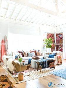 Độc nhất vô nhị chính là từ dùng để miêu tả những chiếc ghế sofa phòng khách theo hướng thổ dân