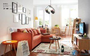 Bài trí sofa phòng khách đẹp, thoáng mát cho mùa hè