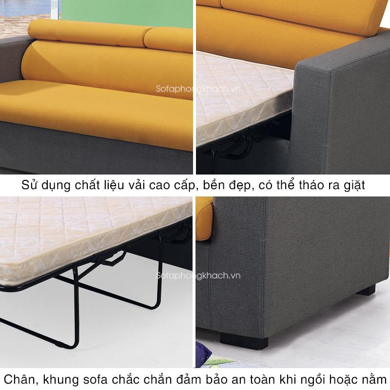 tiện ích vượt trội của sofa giường BK-6072