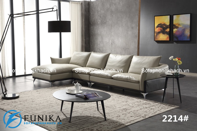 Sofa góc nhập khẩu 2214