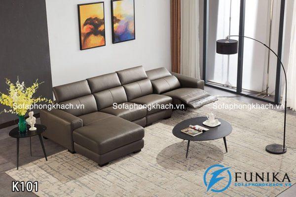 Sofa góc nhập khẩu K101