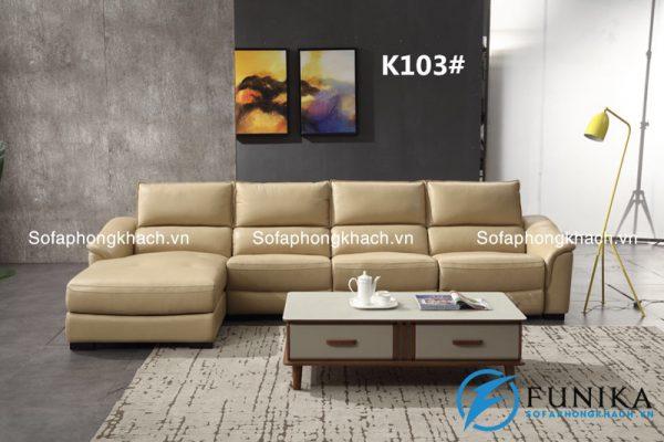 sofa góc nhập khẩu K103