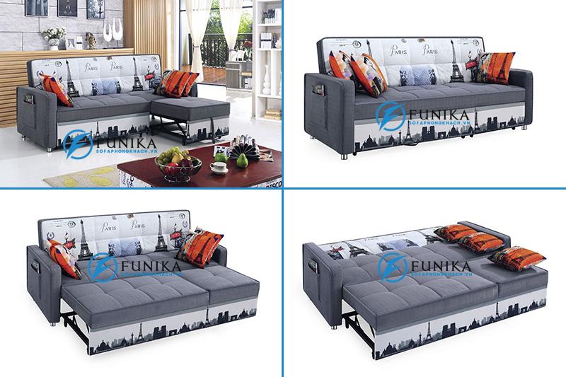ghế sofa kiêm giường