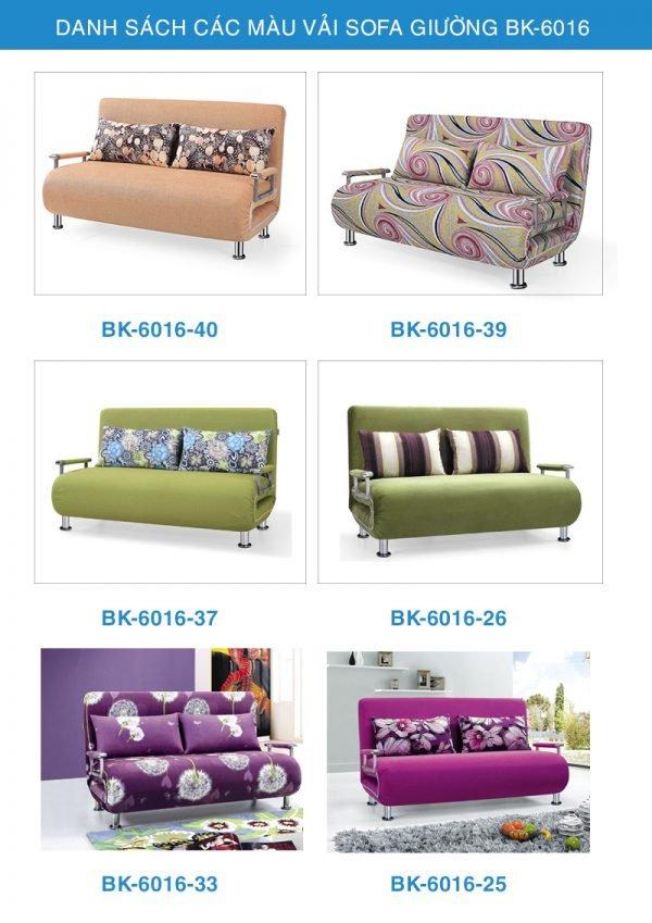 bảng màu vải sofa giường thông minh bk-6016