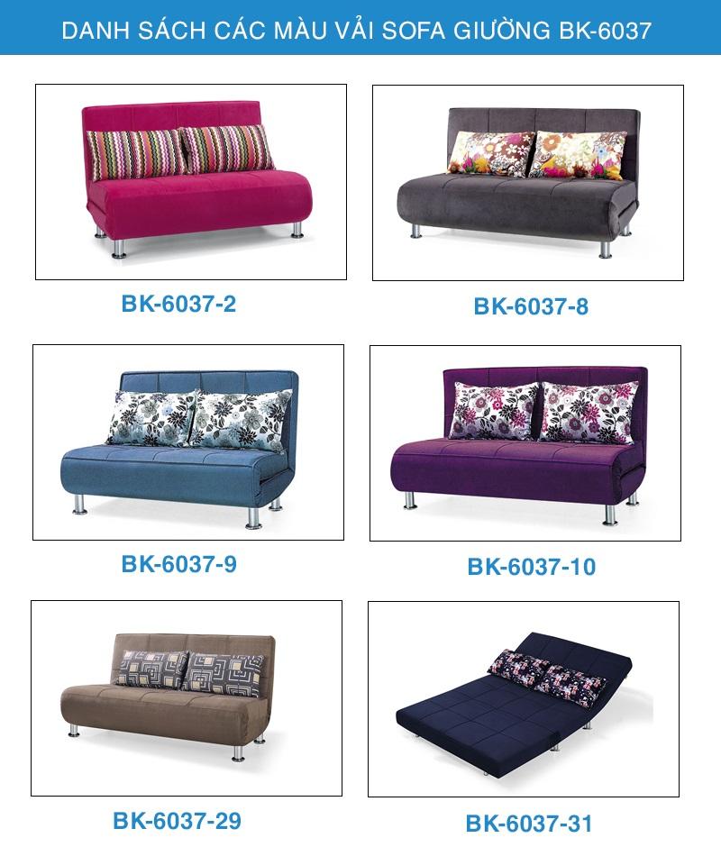 bảng màu Sofa giường đẹp bk-6037