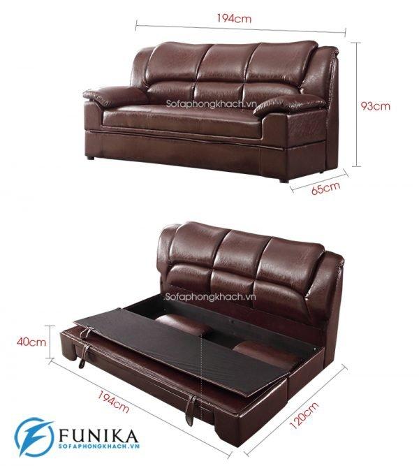 kích thước sofa giường nhập khẩu 712