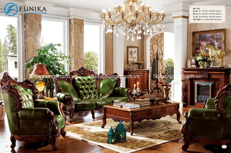 Sofa cổ điển châu Âu mang đến nét đẹp sang trọng, quý tộc cho không gian sống