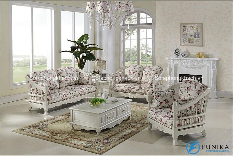 Sofa tân cổ điển kiểu dáng độc đáo và ấn tượng