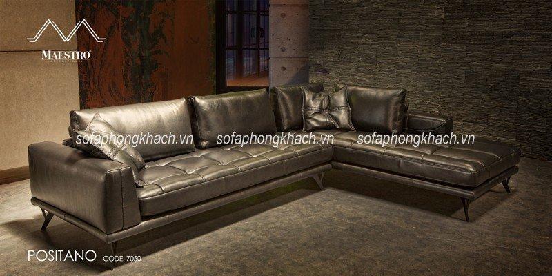 Sofa góc da dành cho căn phòng khách