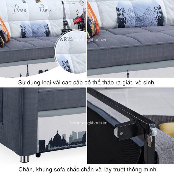 tiện ích của sofa giường 6080