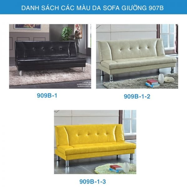 bảng màu da sofa giường