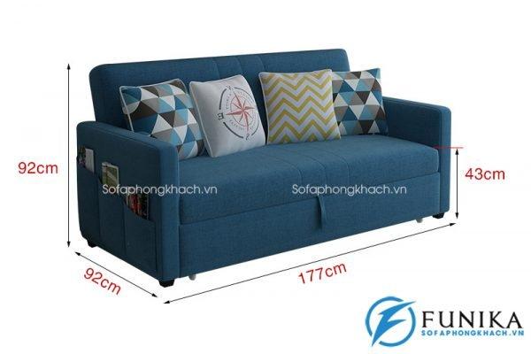 sofa giường nhập khẩu 866-7