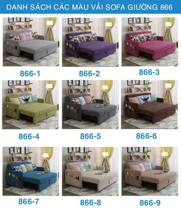 sofa giường nhập khẩu 866