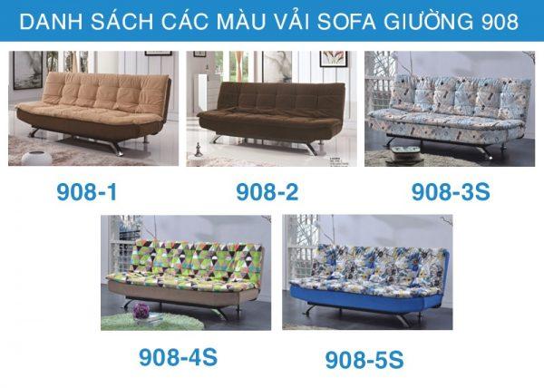sofa giường nhập khẩu 908