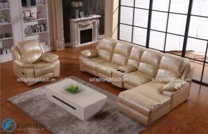 Gợi ý các gam màu ghế sofa da dịu nhẹ cho mùa hè