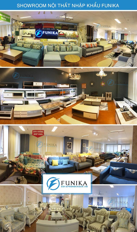 Ảnh showroom nội thất nhập khẩu Funika