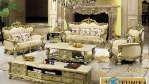 Sofa cổ điển Vàng đồng M57