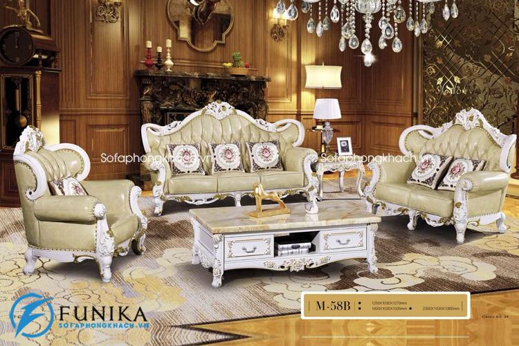 Sofa cổ điển cao cấp M58B